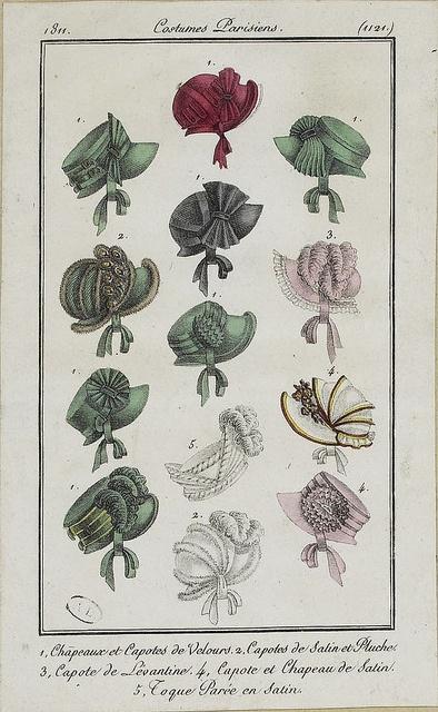 1811. Pretty self bows.