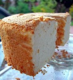 Perfect Angel Food Cake.  Just made one today for a light dessert tonight with peaches!