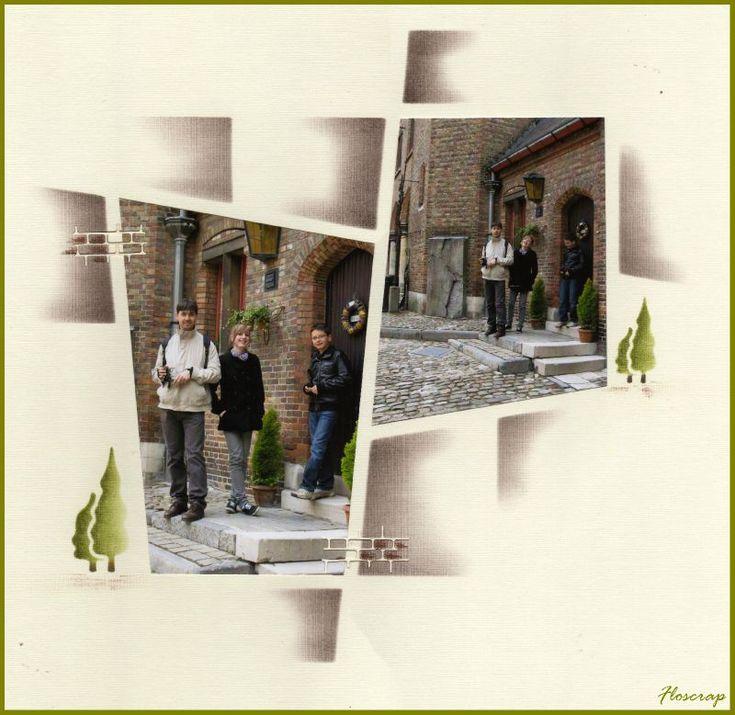 1012 - Photo de Bruges et ses envrons,mai 2010 - Flopassionscrap