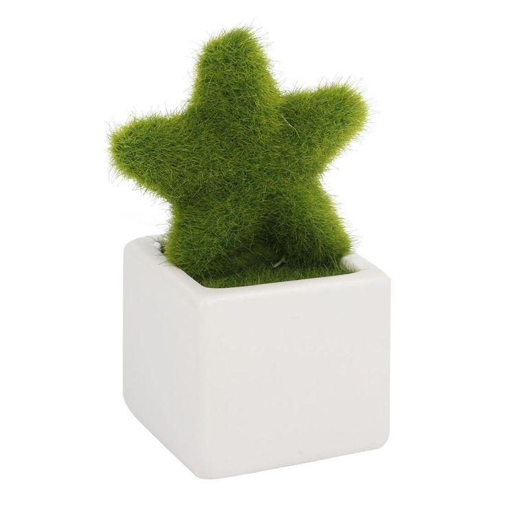sourcingmap® Deko Stern aus Kunststoff Bonsai-Topf