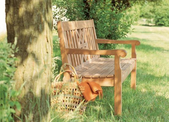 8 best Gartenbänke images on Pinterest   Teak, Backyard furniture ...