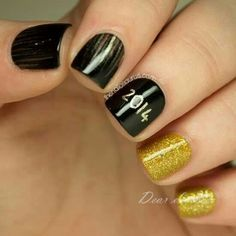 41 best new years nail designs images on pinterest nail art happy new year 2016 nail designs google search graduation prinsesfo Images