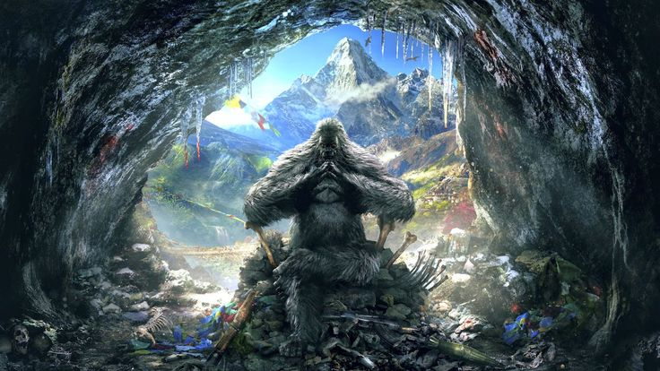 Valley of the Yetis gameplay trailer Far Cry 4 [PS3/PS4/Xbox 360/Xbox One/PC]