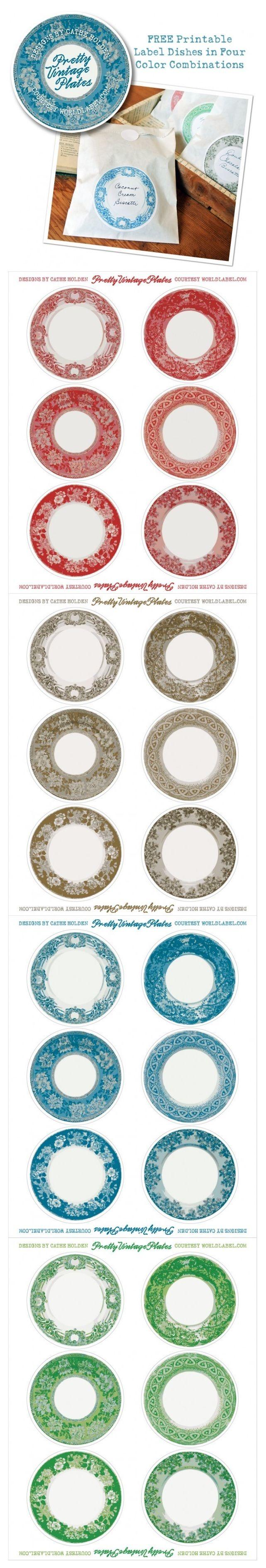 plates printable                                                                                                                                                                                 Más
