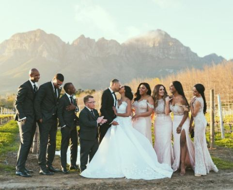 South African TV Personality Minnie Dlamini shares photos from her  wedding  http://ift.tt/2yZkq5f