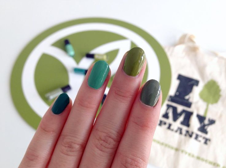 What are you undertaking for your planet? #NailFriday #SpeakingColors