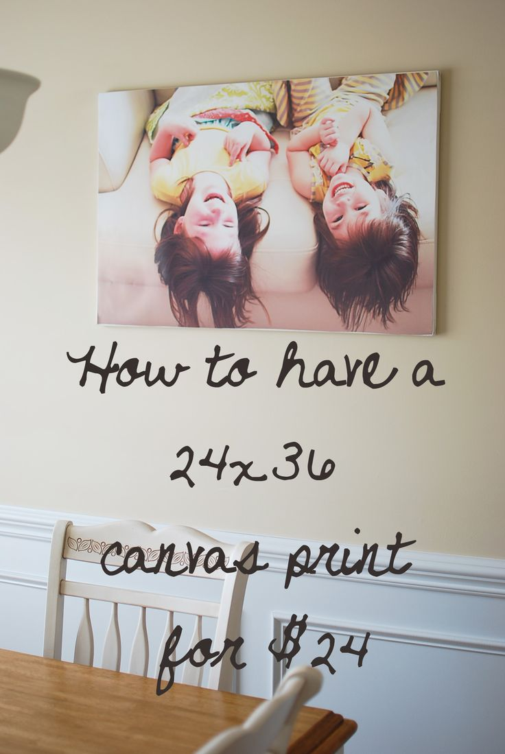 How to have a canvas print for cheap: Canvas Ideas, Large Canvas, Large Prints, Canvas Prints, Cheap Canvas, Diy Canvas, Photo Canvas, Canvas Photo, Photo Art