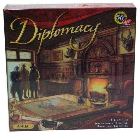 Avalon Hill Diplomacy Game