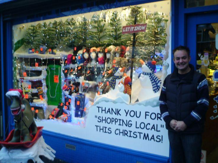 window display christmas | Chorlton Civic Society: Christmas Window Display Competition – the ...