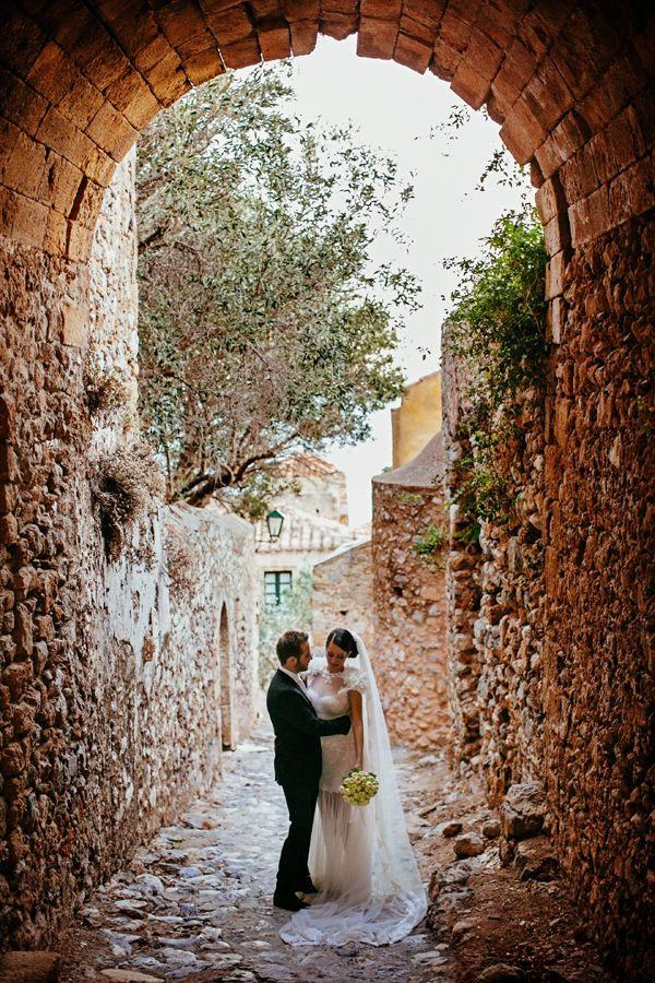 The rustic glam wedding of Lia and Dimitris took place in Monemvasia, a wedding destination that combines romance and history. see more http://www.love4wed.com/rustic-glam-wedding-monemvasia-greece/ #wedding_photography_greece #destination_wedding_greece