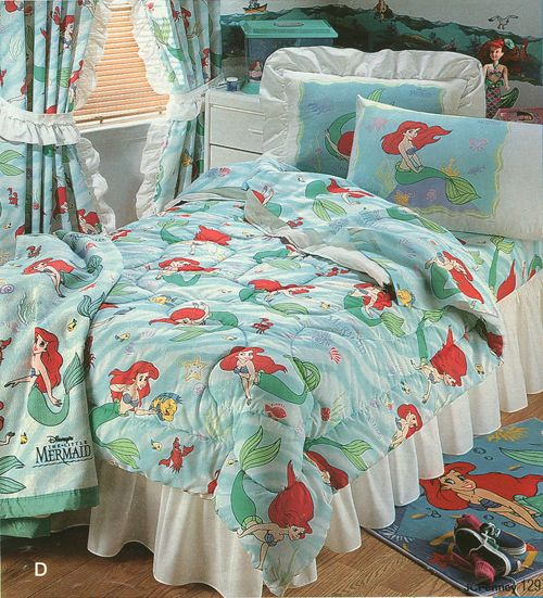 Little Mermaid Bedding I Had This Set 90s Flav Pinterest Childhood Memories And The