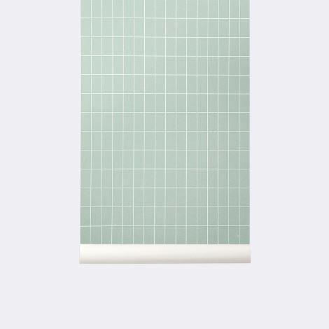 grid wallpaper ferm living