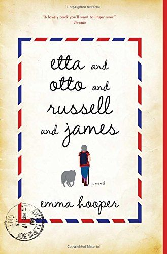 Etta and Otto and Russell and James: A Novel - Emma Hooper. I classify this as a fantasy (mainly because of James the talking coyote). It was ok. Fin 6/14/15