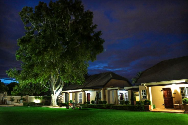 A beautifull night in the North west Province LICHTENBURG......enjoy a quiet moment in the gardens of Scott's Manor Guesthouse