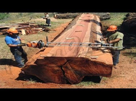 Dangerous BIGGEST Chainsaw Wood Milling #DEATH BLADE - YouTube