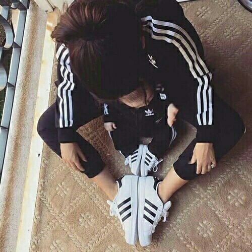 Adidas momma + baby. My dream is for Sophie and I to have matching Adidas track suits ❤️