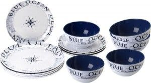 Żeglarski zestaw obiadowy Midday Blue Ocean