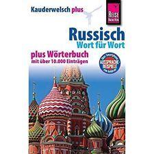 Russisch - Wort Für Wort, Kauderwelsch Plus: Mit Wörterbuch Becker, Elke; Becker