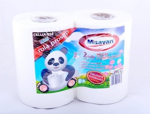 Rola Prosop Midi 2str High Consumer 2/set   Misavan Curatenie
