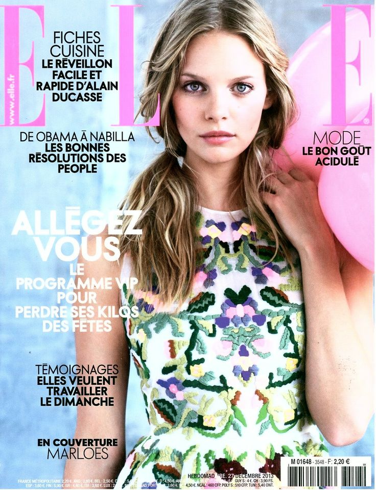 Elle France, December 2013