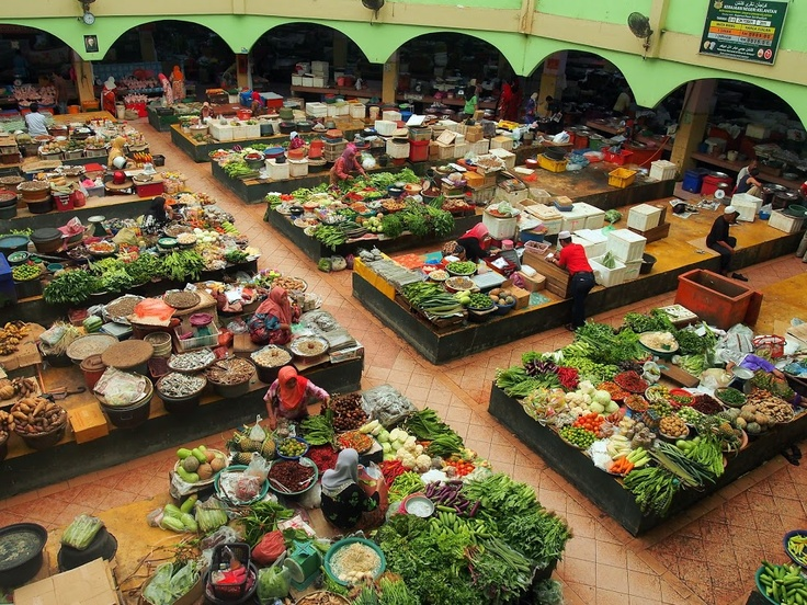 Enjoy the many fresh produce markets around Malaysia