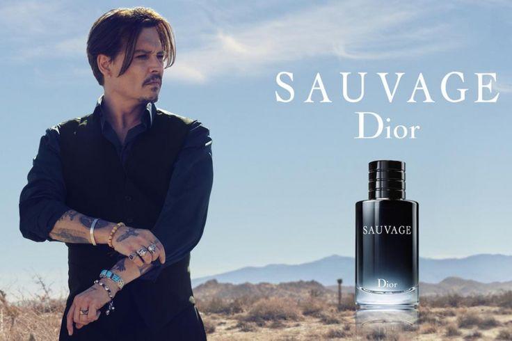 Johnny Depp, sauvage égérie Dior