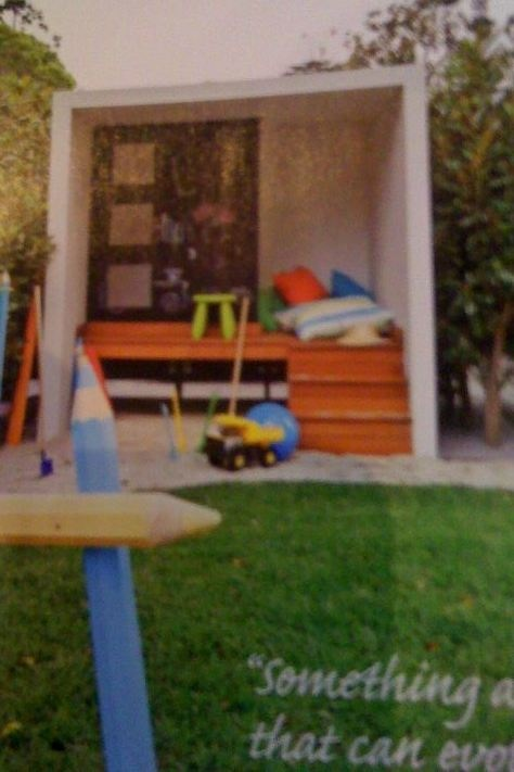Awesome kids cubby house