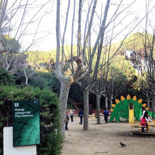 Llocs amb història! Bona @mtsecamps ! :) #calellabcn #spots #highlights #patrimoni #children #heritage