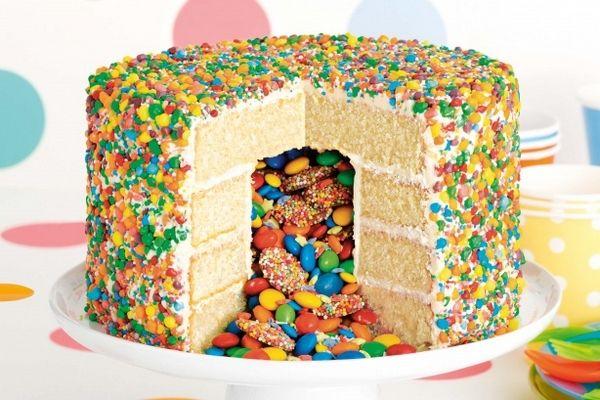 pinata cake                                                                                                                                                                                 Plus