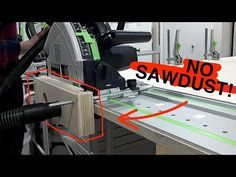 (4) FESTOOL TS 55 Dust Collection Improvement for Edge Work! - YouTube