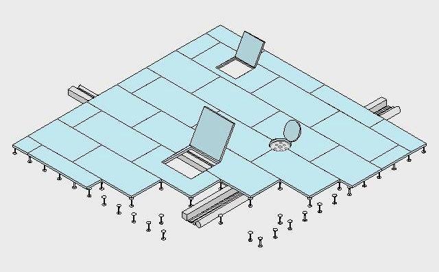 Detalles cad suelo t cnico d e t i l pinterest for Detalle suelo tecnico