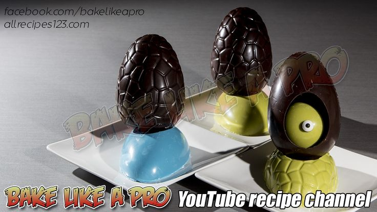 Chocolate Easter Egg Tutorials Preview  CLICK the image to see the video