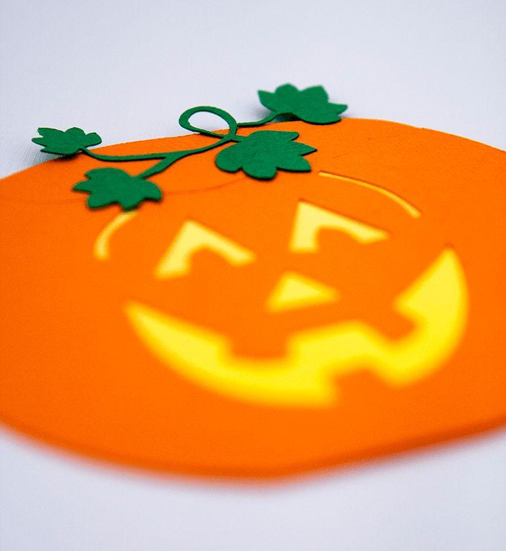 Dovleac cu Fantomita Halloween