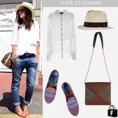 En los looks de verano son esenciales y trendy los SOMBREROS en color natural combinados con complementos de colores.