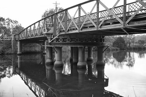 'the Amazing Historic Sale Swing Bridge'