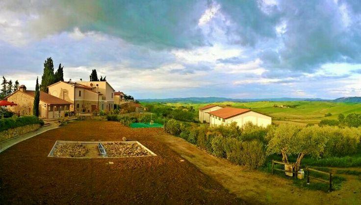 #skyline from the #swimmingpool - amazing #tuscany - @Agriturismo Toscana Signorini