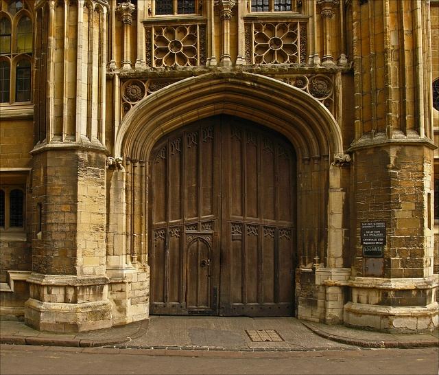 The Old Schools Doorway University of Cambridge | England