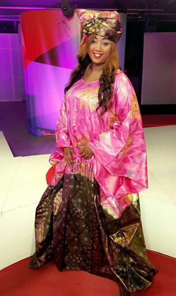 Aïcha Diouf  - Présentatrice sénégalaise / Senegalese presenter / Présentatrice africaine / African presenter
