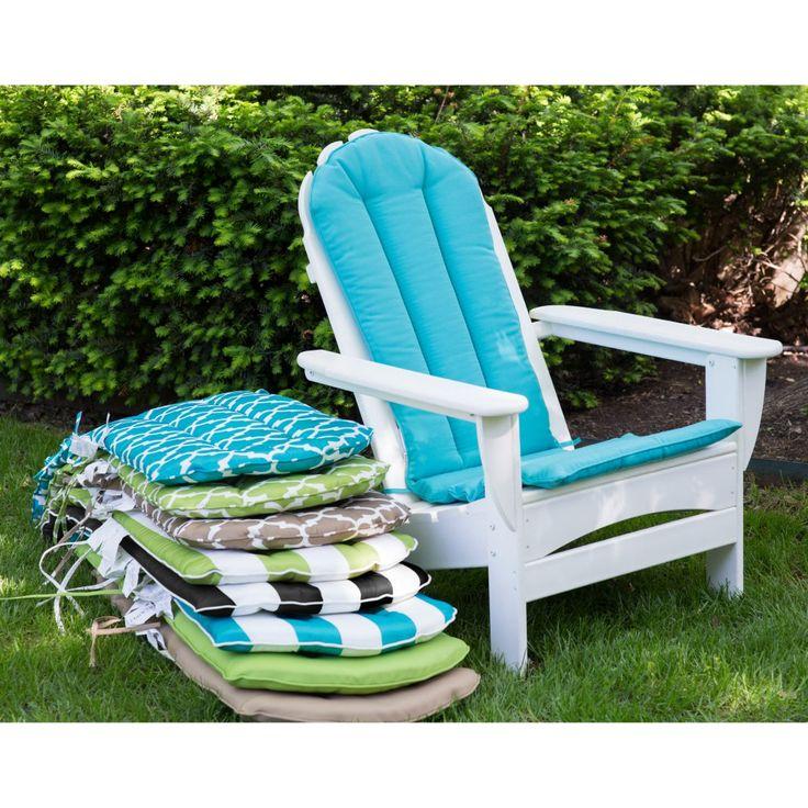 Coral Coast Lakeside Adirondack Chair Cushion - Outdoor Cushions at Hayneedle