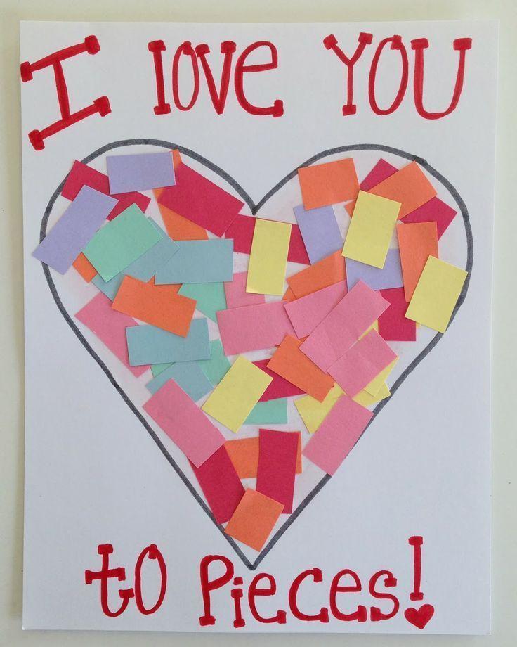 Best 25 Toddler valentine crafts ideas – Toddler Valentines Day Cards