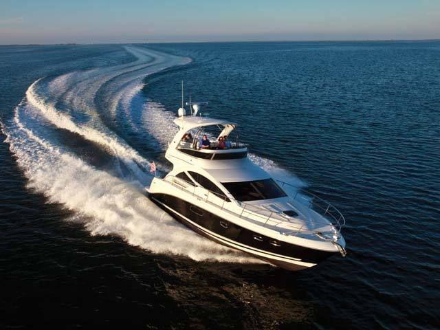 New 2012 Sea Ray Boats 450 Sedan Bridge Motor Yacht