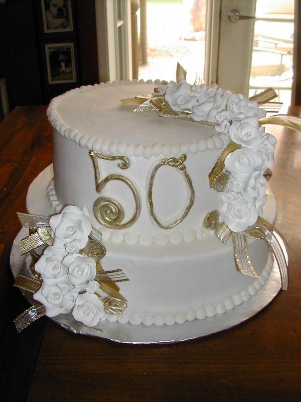 pinterest/50th wedding anniversary cakes | Pin Pin 50th ...