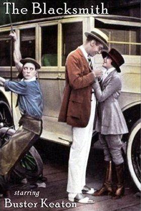 DVD CINE 2450-III - El herrero (1922) EEUU. Dir: Buster Keaton, Malcolm St. Clair. Comedia. Sinopse: Buster fai das súas nunha herrería ata que o dono comeza unha pelexa que o leva ao cárcere. Buster encárgase de atender aos clientes cos seus cabalos, pero tamén encargarase de esnaquizar un precioso Rolls Royce.