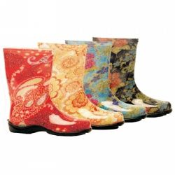 Sloggers Women's Print Rain and Garden Boots