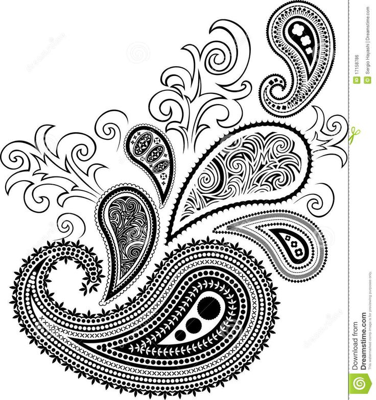 paisley Coloring pages - Bing Images
