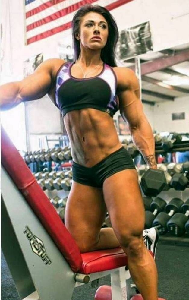 Jacquelyn Hickerson Thick Pipes by Turbo99 | Muscle Woman ...