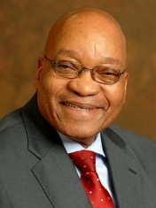 Jacob Zuma     Jacob Zuma was elected President of South Africa in May 2009. He has been President of the African National Congress (ANC) since December 2007 and was crowned 'African President of the Year' in 2009.