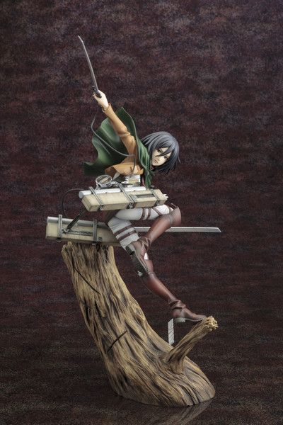 Crunchyroll - Store - Attack on Titan Mikasa Ackerman ARTFXJ Statue