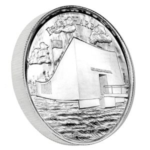 The Pearl Harbor 2 oz Silver Ultra High Relief round is an extremely high quality silver product perfect for investors or collectors. Each silver round is manufactured by the Elemetal Mint in extremely high relief and consists of two troy ounces of .999 fine silver.