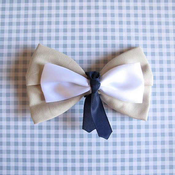 Inspired by Castiel of Supernatural hair bow by brucelovesyou, $10.00